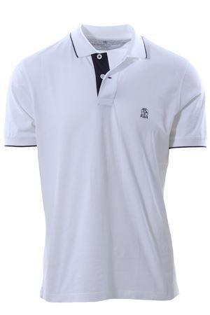 Polo in jersey di cotone CUCINELLI | 2 | MOT619759GCG345
