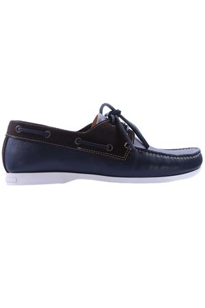 Boat shoes in pelle e camoscio DI MELLA | 5032271 | D606BM