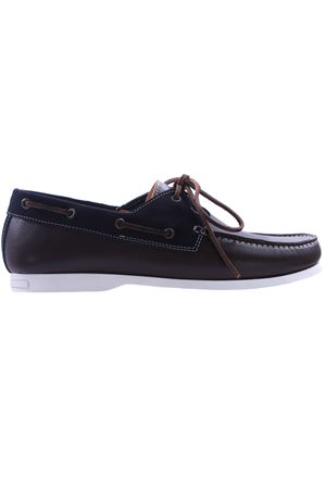Boat shoes in pelle e camoscio DI MELLA | 5032271 | D606MB