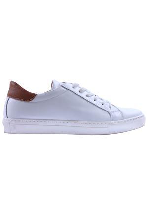 Sneaker in pelle DI MELLA | 20000049 | TW492BIANCO