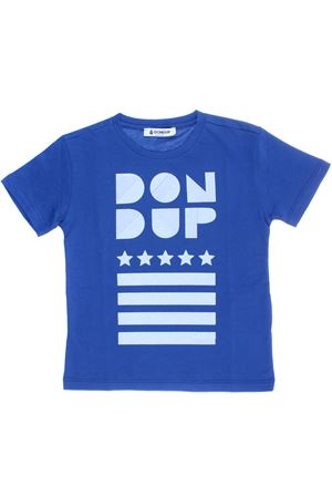 T-shirt manica corta con stampa DONDUP | 8 | DMTS21JE134RD0150081