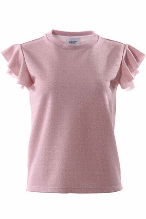 T-shirt manica corta con ruches DONDUP | 8 | S722JF216DXXX510