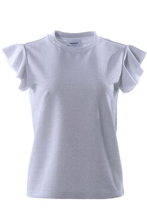 T-shirt manica corta con ruches DONDUP | 8 | S722JF216DXXX952