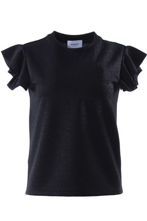 T-shirt manica corta con ruches DONDUP | 8 | S722JF216DXXX999