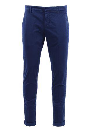 Pantaloni Gaubert in cotone microfantasia DONDUP | 5032272 | UP235FS145UPTD866