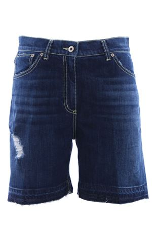 Bermuda Mahe in denim con rotture DONDUP | 30 | DP313DS153DR02G800