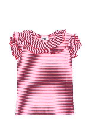 T-shirt manica corta rigata DOU DOU | 8 | 108084906