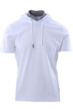 T-shirt cappuccio collo inserito ELEVENTY | 8 | 979FO180TSH2500201