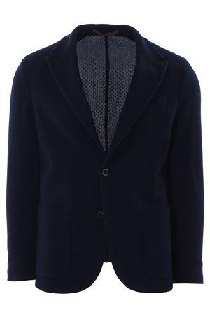 Giacca in maglia di cotone armaturata ELEVENTY | 5032284 | 979JA3155JAC2504011