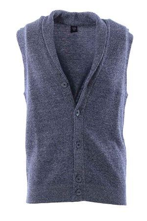 Gilet collo scialle in lino e cotone ELEVENTY | -161048383 | 979MA3032MAG2100708