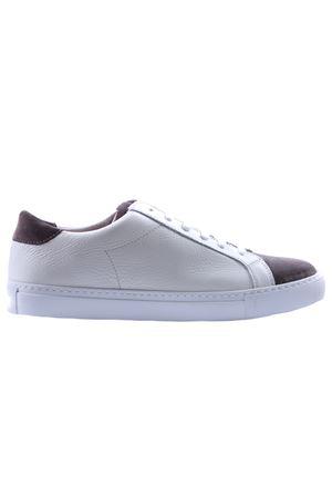 Sneakers in pelle e camoscio ELEVENTY   20000049   979SR0146SCA2501706