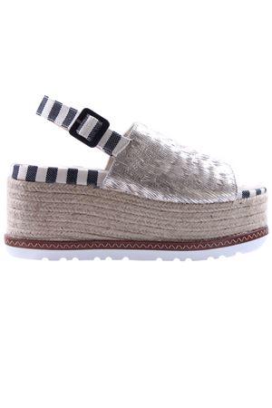 Espadrillas sandali platino ESPADRILLES | 5032293 | QUINTOESCAMUSOPLATINO