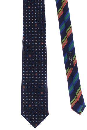 Cravatta 2 tessuti ETRO | 5032289 | 130058116200