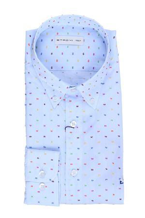 Camicia mandy in cotone fil coupe
