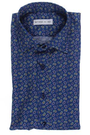 Camicia tom in cotone stampa paisley ETRO | 5032279 | 163764735201