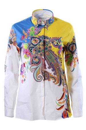Cotton patterned shirt ETRO | 5032279 | 178319513700