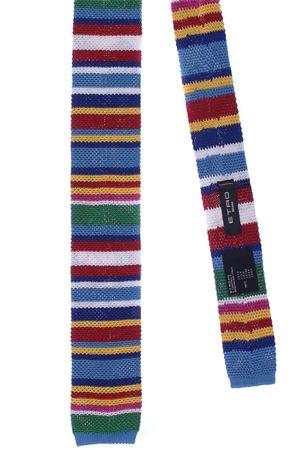 Cravatta tricot a righe multicolor ETRO | 5032289 | 1T4009911201