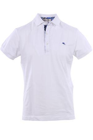 Polo in piquet di cotone con contrasti ETRO | 2 | 1Y8009154990