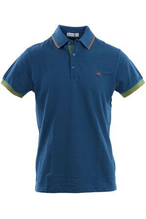 Polo in piquet di cotone con contrasti ETRO | 2 | 1Y8009156204