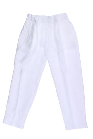 Pantalaccio in lino EUROPEAN CULTURE | 5032272 | 064070230101