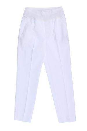 Pantalone in cotone con elastico EUROPEAN CULTURE | 5032272 | 07V067000101