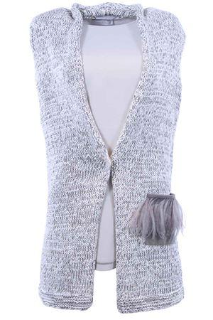 Cardigan senza maniche lungo in cotone FABIANA FILIPPI | -161048383 | E83318X174VR2