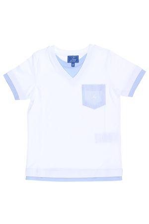 T-shirt manica corta in cotone FAY | 8 | NDGB236766JLIXB001