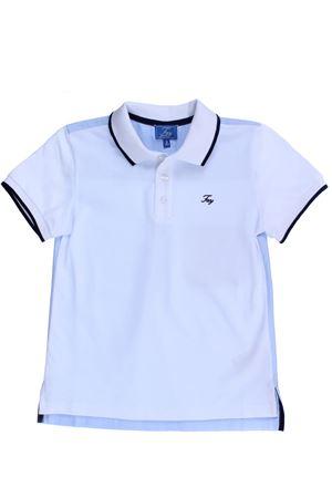 Polo in piquet di cotone FAY | 2 | NDGB2367740OIRB001