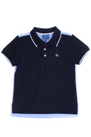 Polo in piquet di cotone FAY | 2 | NDGB2367740OIRU807