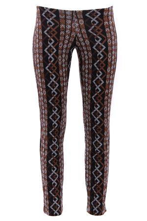 Pantaloni in jersey FISICO | 5032272 | P8FCN01MRBLACKWHITE