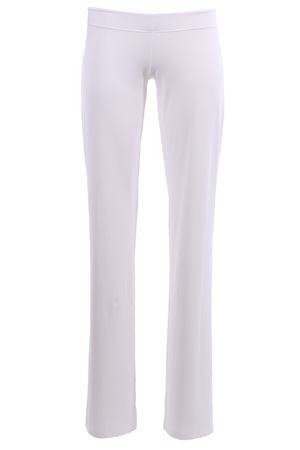 Pants with elastic waistband FISICO | 5032272 | P8FCN16M0WHITE