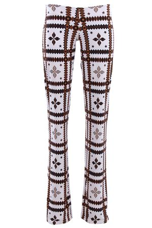 Pantaloni in jersey FISICO   5032272   P8FCN16MMBLACKWHITE