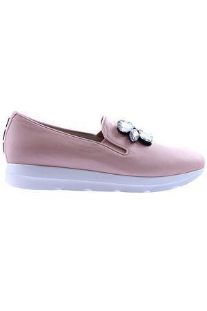Sneakers in pelle con applicazione I8I | 20000049 | ARIANAP226