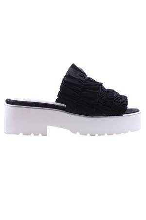 Sandali in pelle e grosgrain I8I | 5032296 | TALIBRI212
