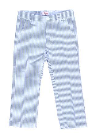 Pantalone rigato in cotone IL GUFO | 5032272 | P18PL133C1057482