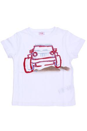 T-shirt manica corta con stampa IL GUFO | 8 | P18TS6J1M00140136