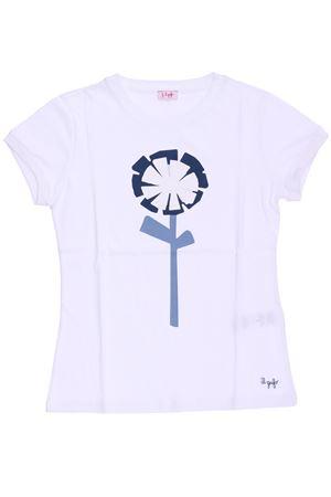 T-shirt in cotone con stampa IL GUFO | 8 | P18TS9G2M00140148