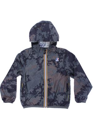 Giubbino le vrai 3.0 claude graphic camouflage K-WAY | 5032285 | K008650900