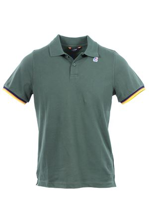 Polo vincent contrast in cotone K-WAY | 2 | K008J50D05