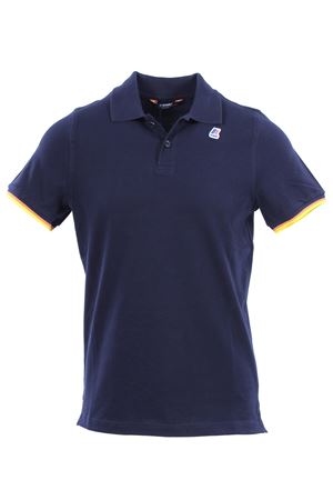 Polo vincent contrast in cotone K-WAY | 2 | K008J50K89