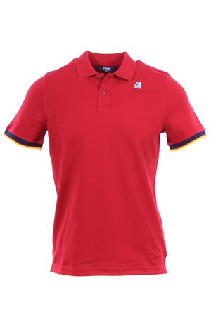 Polo vincent contrast in cotone K-WAY | 2 | K008J50WNR