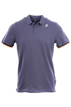 Polo vincent contrast in cotone K-WAY | 2 | K008J50WPP