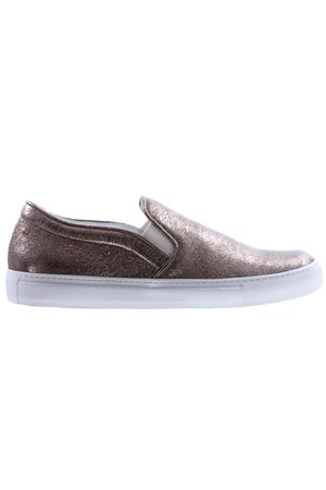 Slip on in pelle crackle L