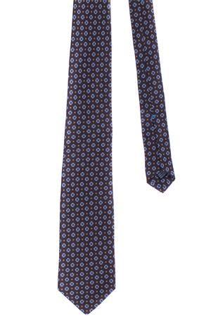Silk tie with geometric pattern LA FERRIERE | 5032289 | PARIGI23562