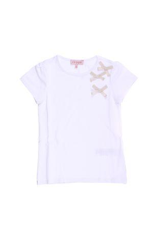 T-shirt manica corta in cotone LILI GAUFRETTE | 8 | 5L1007601