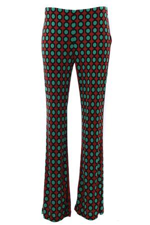Pantalone a zampa in viscosa MALIPARMI | 5032272 | JH400977087A3050