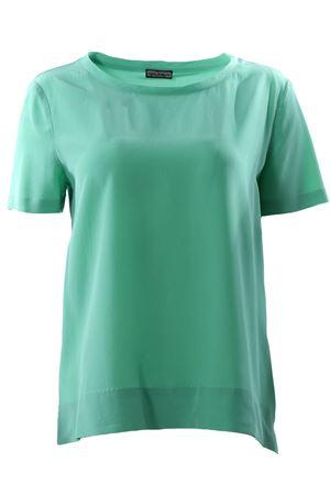 T-shirt manica corta in seta MALIPARMI | 8 | JM42123004460051