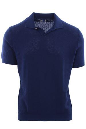 Polo maglia in cotone traforato MC LAUREN | 2 | CM311P11AULEENE471