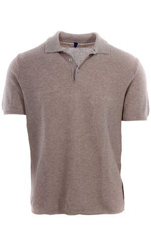 Polo maglia in lino e cotone MC LAUREN | 2 | CM610P13GUNNY84