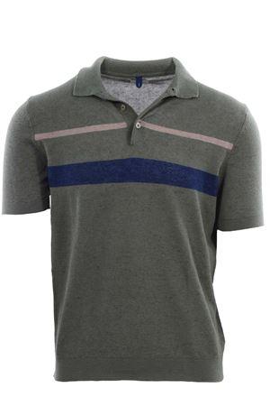 Polo maglia in lino e cotone a righe MC LAUREN | 2 | CM612P13GIASPER2